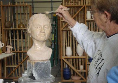 Leslie Uguccioni, Sculpture Instructor