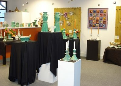 Gay Smith Pottery in Gallery