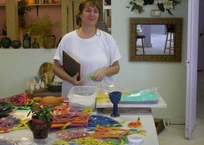 Anne Derwent Tile Workshop