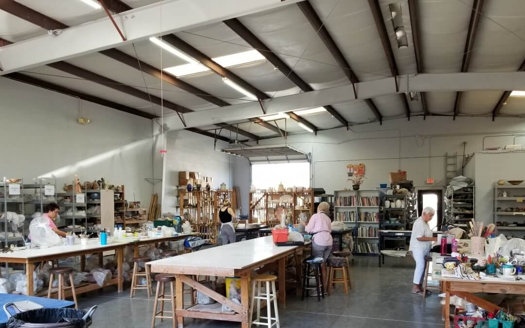 5,000 square feet of open, airy studio space