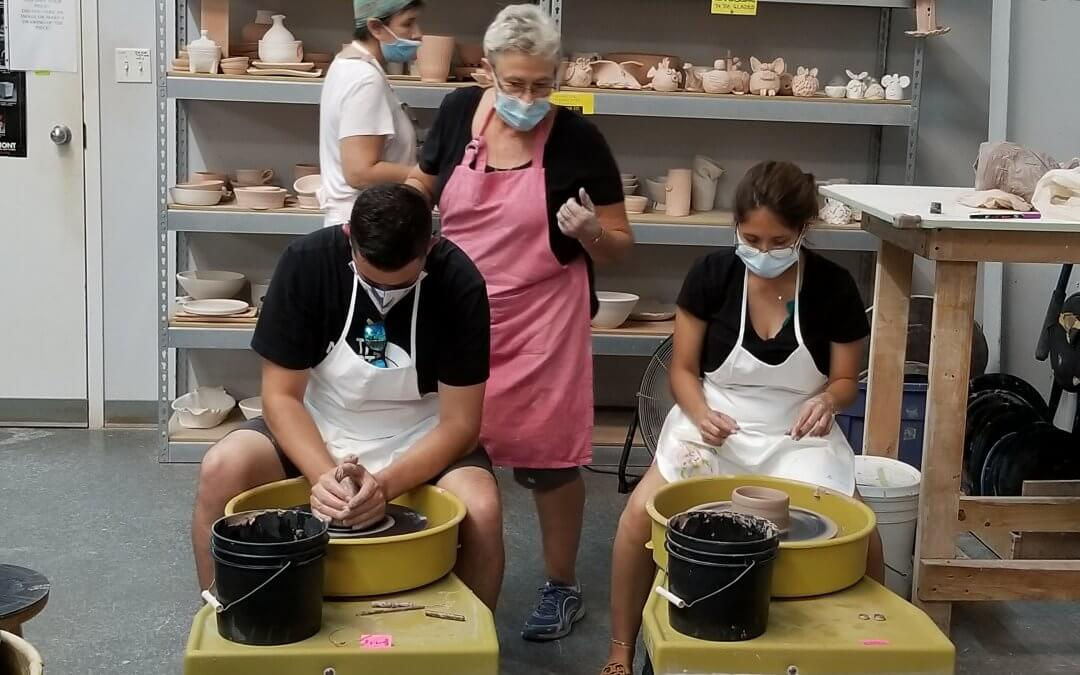 Intro to Clay All Ages 'Wheel Throwing' (By Appointment)