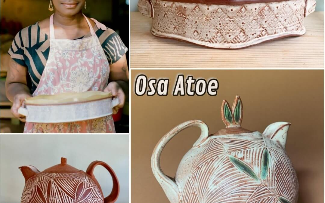 Terracotta Textures: Handbuilding with Clay with Osa Atoe